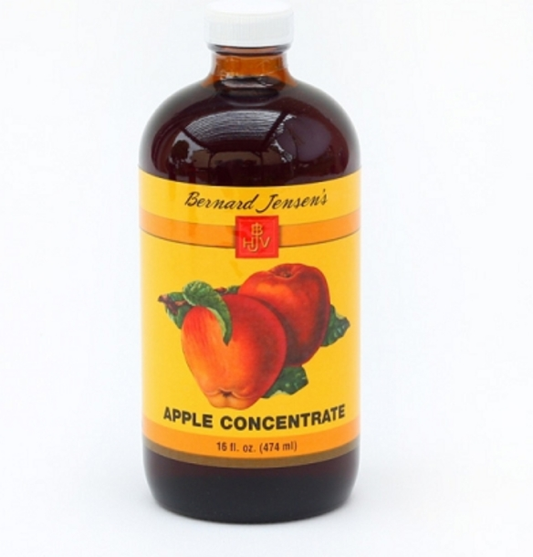 bernard jensen's 100% apple concentrate