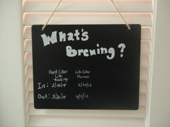 what's brewing sign