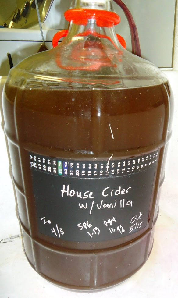 new batch of hard cider