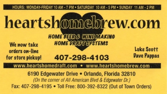 heart's home brew store