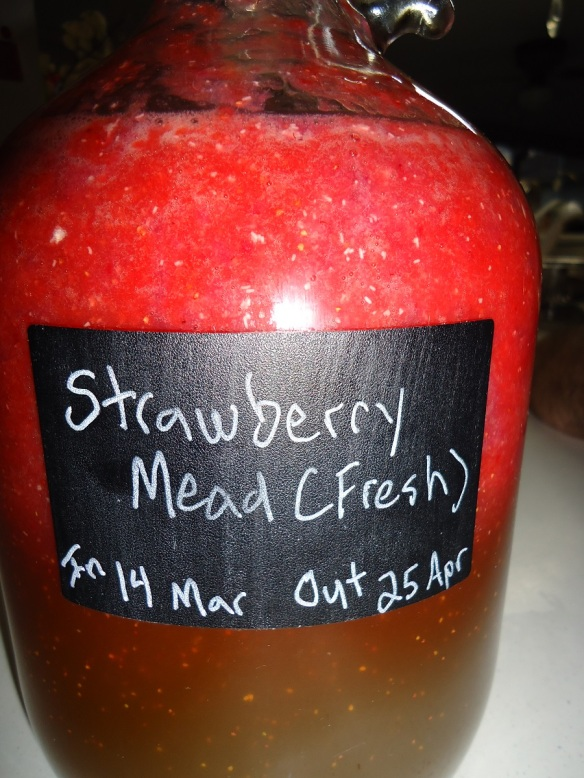 strawberry mead working